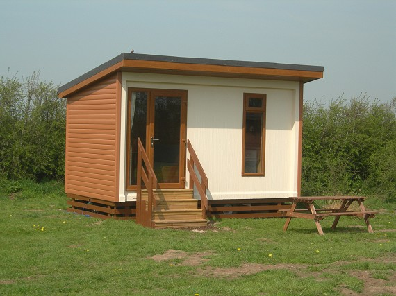 mini camping lodge - external view